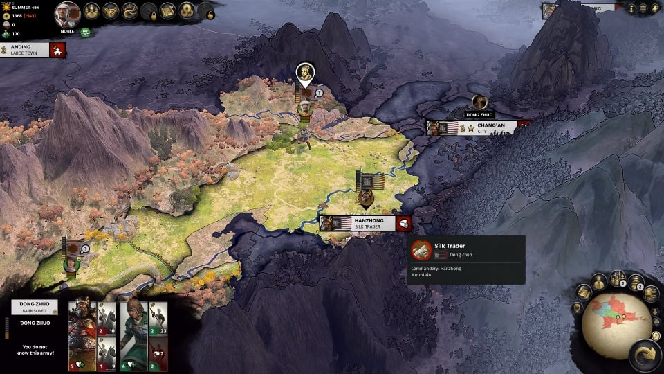 Total War: THREE KINGDOMS How to Unlock Dong Faction in 5 Turn